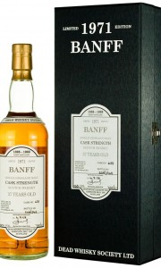 Banff 37 Year Old 1971 Dead Whisky Society