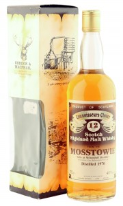 Mosstowie 1970 12 Year Old, Gordon & MacPhail Connoisseurs Choice