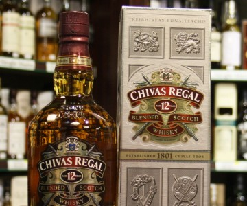 Chivas Regal 12 Year Old Blended Whisky