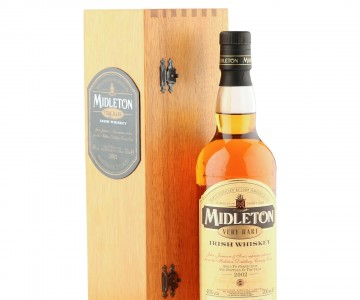 Midleton Very Rare Irish Whiskey, 2002 Bottling with Wooden Box